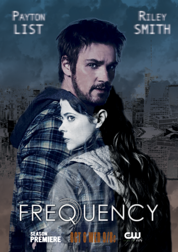 Graphisme Photoshop affiche Frequency